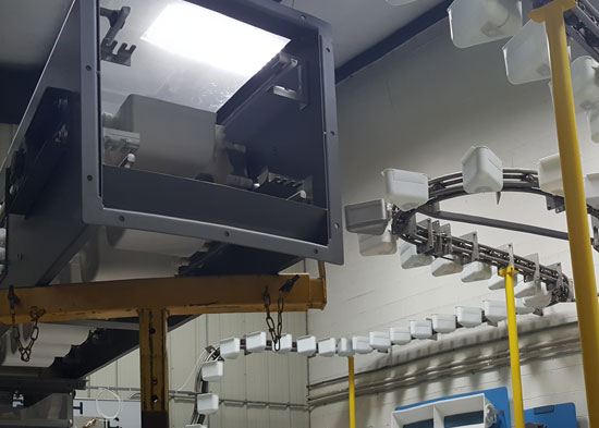 top of elecon conveying systems
