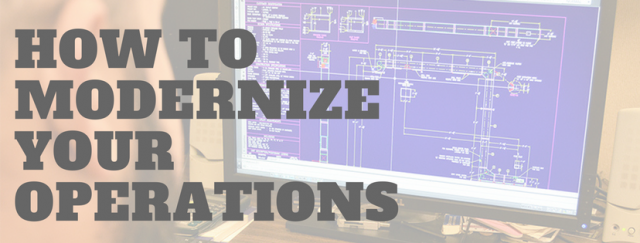How to Modernize Your Plant's Operations