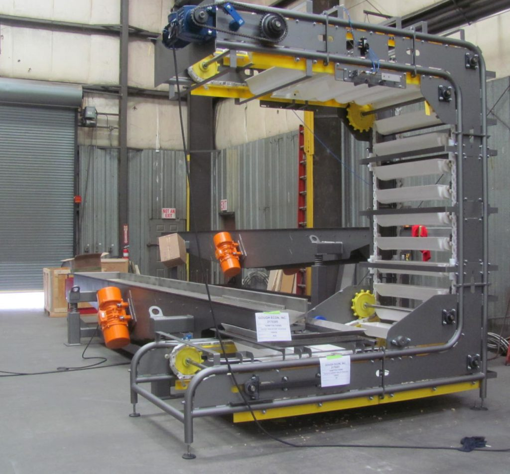 The sanitary conveyor and material handling design protects the integrity of your end product.